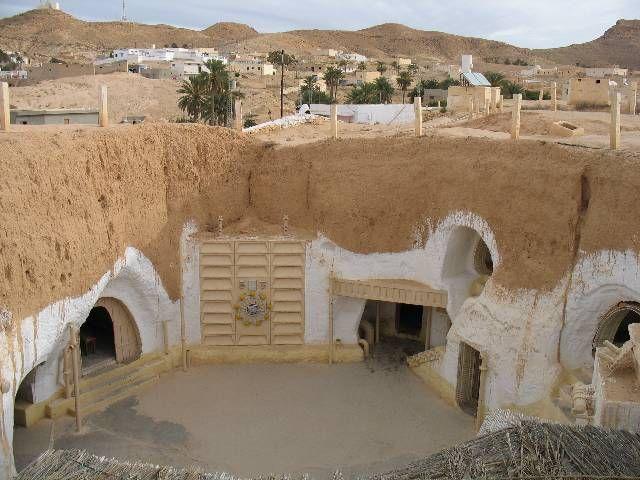 cave in Matmata