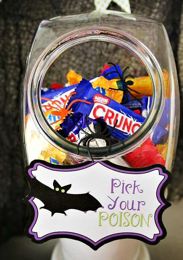 Defrightful Halloween Party Ideas + Free Printables