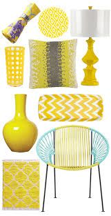 Image result for bright yellow home decoration