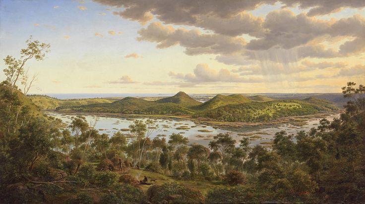 Tower Hill de Eugene Von Guerard (1811-1901, Austria)