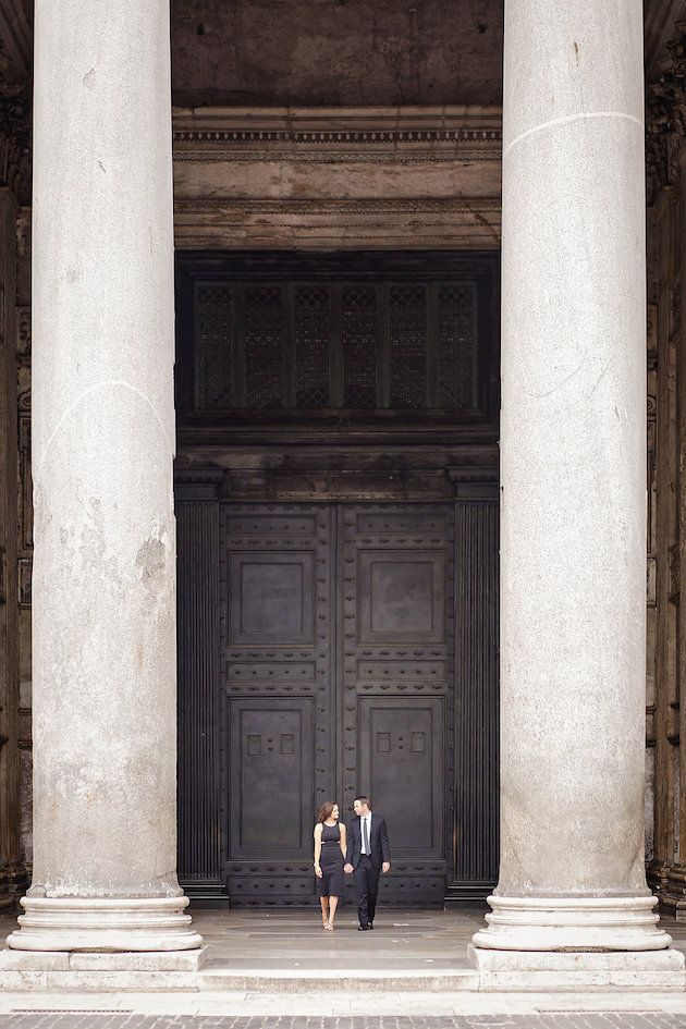 Romantic Rome Engagement Shoot | Teresa Carnuccio | In Love Italy Photography