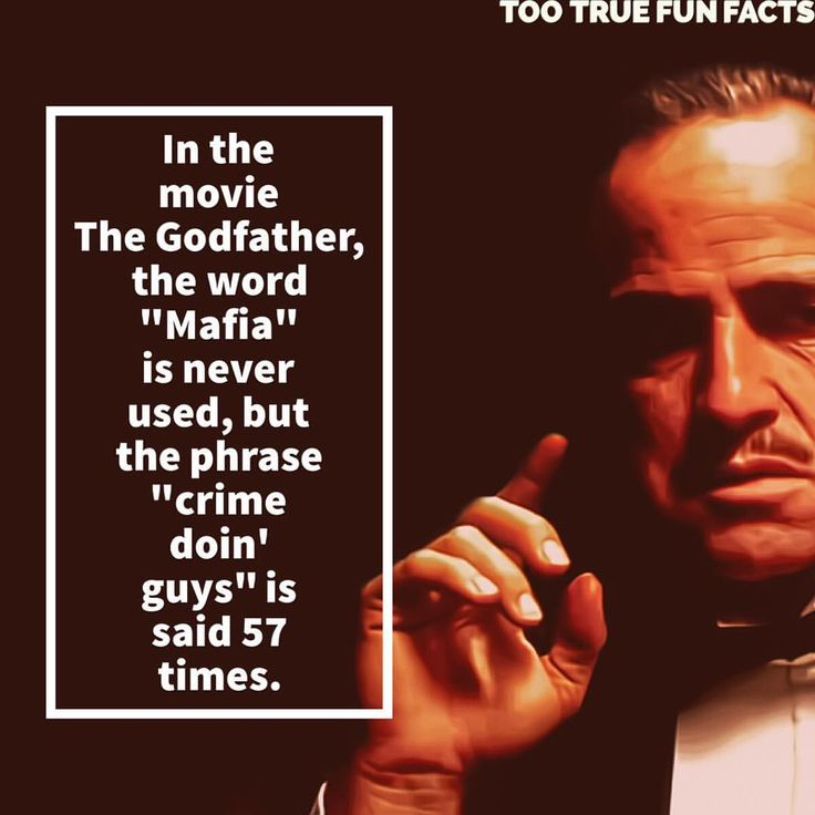 That's a lot.  #thegodfather #godfather #marlonbrando #brando #movie #movies #film #films #entertainment #comedy #funny #funnypic #funnypics #funnypictures #funnypicsdaily #funnyposts #funnymemes #memes #memesdaily #humor #parody #satire #trivia #facts #funfacts #funfactfriday #fun