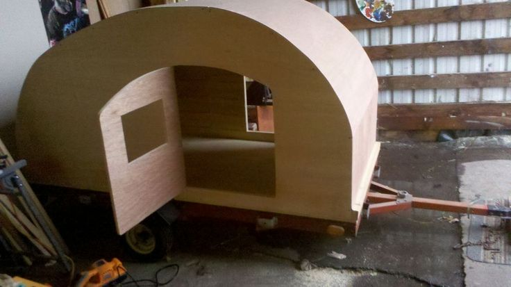 Teardrop Trailer Plans : How to Build a Cheap Camper :