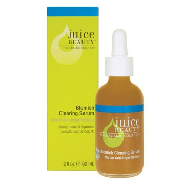 Juice Beauty Blemish Clearing Serum http://beautyeditor.ca/2010/03/31/how-to-treat-oily-skin-hormonal-acne-and-post-acne-marks/