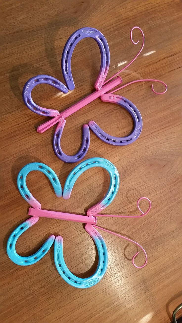 Horseshoe arts and crafts - Horseshoe Projects
