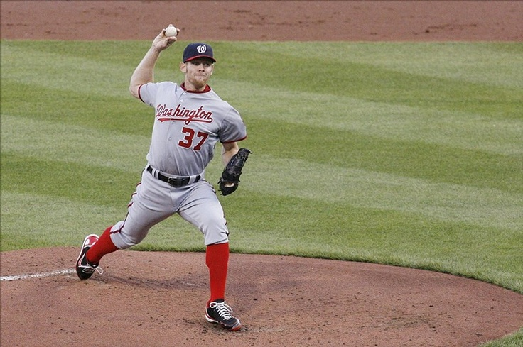 Washington Nationals Pitcher Stephen Strasburg Strikes Out 13
