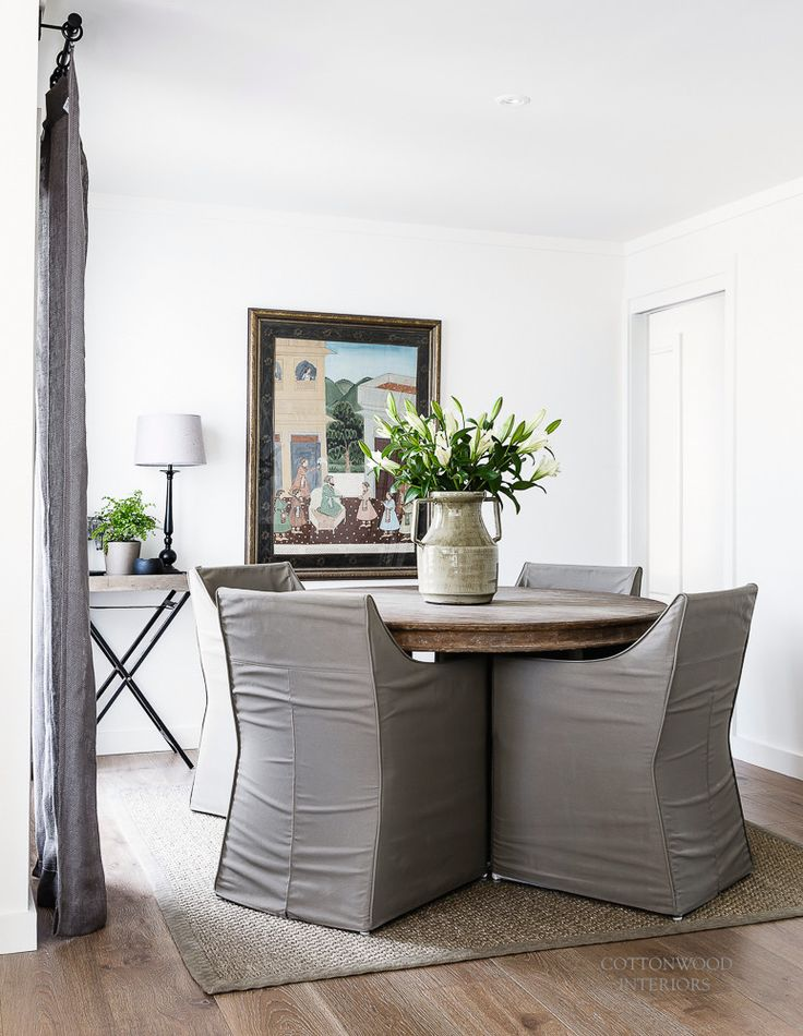 Dining room | Cottonwood Interiors. Photo by Maree Homer.