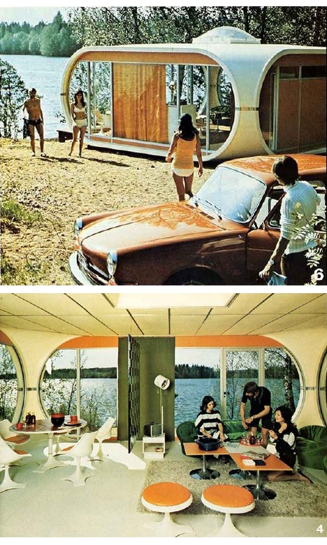 The Venturo Prefab By Matti Suuronen, 1971