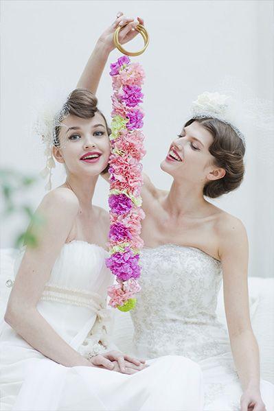 おしゃれ❤マーメイドドレス・スレンダードレスにオススメの髪型・ポンパドールの参考一覧❤