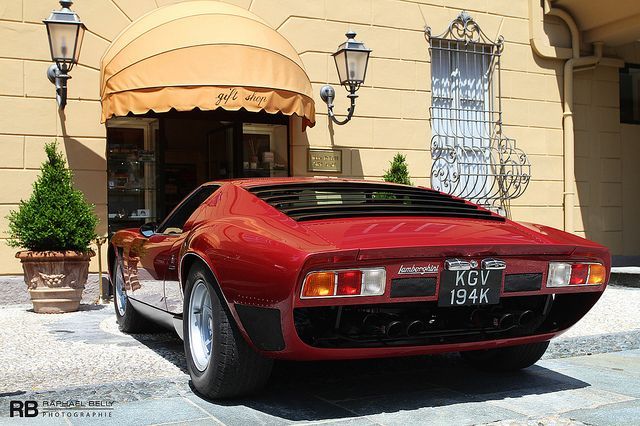 Lamborghini Miura SV/J, via Flickr.