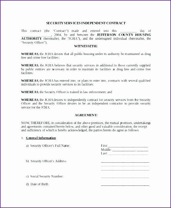 Alarm Monitoring Contract Template Awesome Security Guard Service Contract Sample Termination Letter Contract Template Contract Security Guard Services