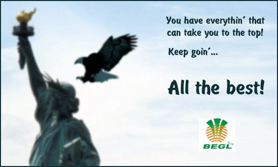 BEGL wishes all the best to the JEE aspirants.