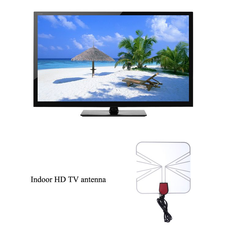 >> Click to Buy << Hot Promotion TV Flat HD Digital Indoor Amplified TV Antenna Box Flat Design High Gain 75 OHM Black   #Affiliate