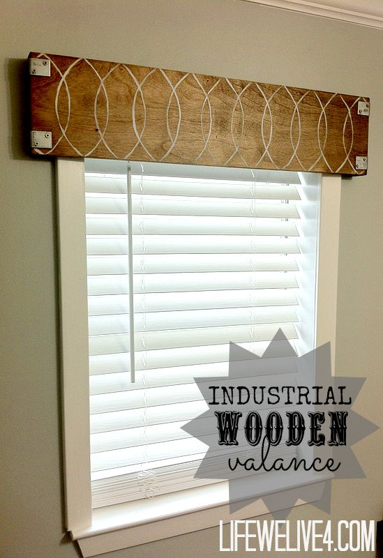 Maybe a little less industrial looking - but love it.  And with some curtains just staples right to the back?  That would be FABULOUS!