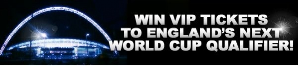 Come play with us at vernons online casino and collect your free £10 and try out our fantastic games! No deposit required! Or deposit just £10 and be entered into our prize drawer to win a pair of tickets to see England's next World Cup Qualifier against Moldova. http://www.initto-winit.com/casino/c6/vernons-casino/