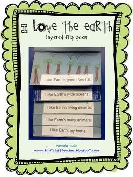 I love lift-the-flap poems. The kids use so many skills when they make then - reading, sequencing, and illustrating.