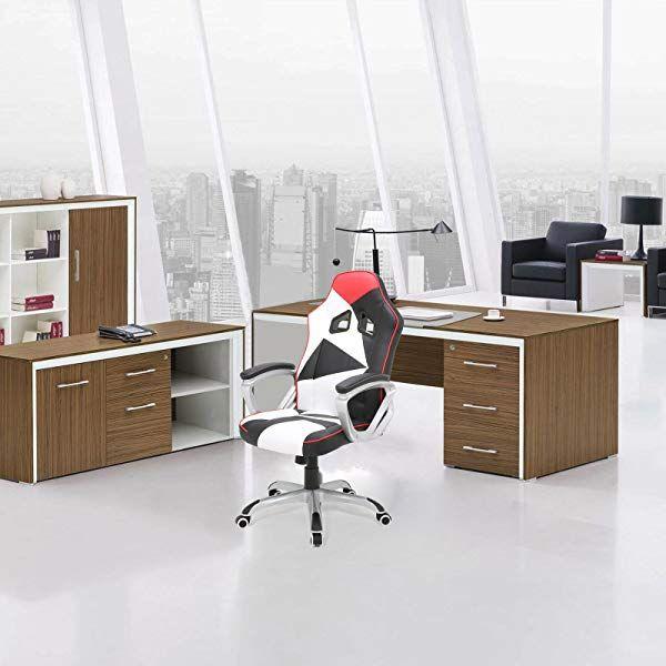 Gaming Stuhl Bürostuhl Schreibtisch Drehstuhl Sessel Racing Stuhl Chefsessel