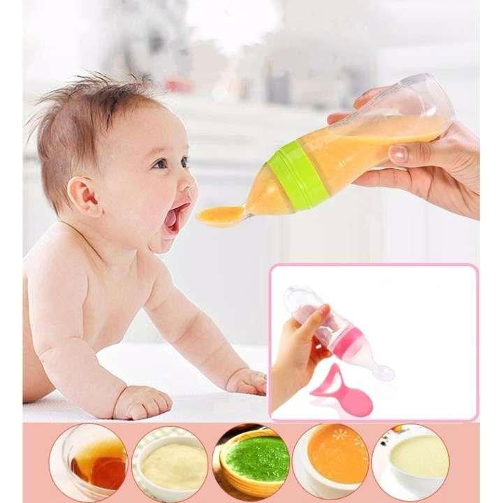 Baby Infant Newborn Toddler Silica Gel Baby Feeding Tools