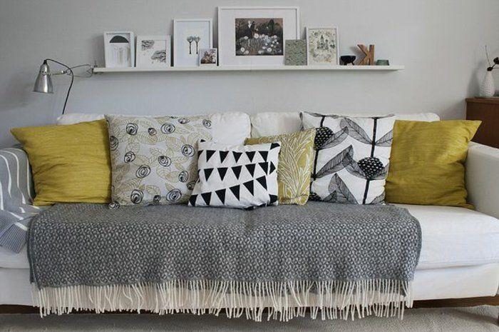 comment protge le canape avec un jeté de canapé pas cher