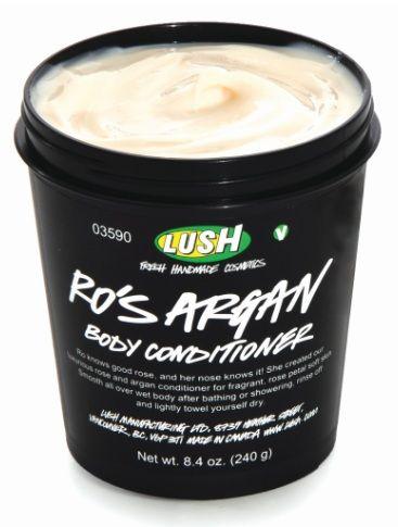 body conditioner from LUSH - o meu cheiro em ti para sempre
