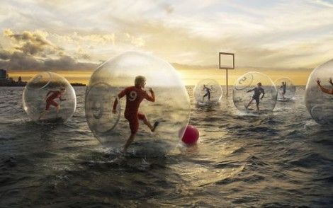 Strange Sports: Water Bubble Soccer- This needs to be in the Olympics...