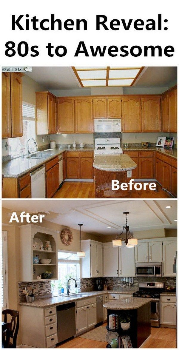 35 Awesome Diy Kitchen Makeover Ideas For Creative Juice Cheap Kitchen Makeover Kitchen Diy Makeover Diy Kitchen Renovation