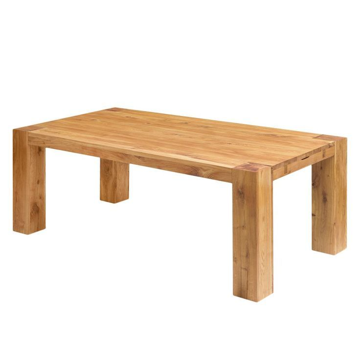 Dining Table George Solid Oak Oak 240 X 100 Cm Ars Natura Buy Online At Good Price Table Dining Table Coffee Table