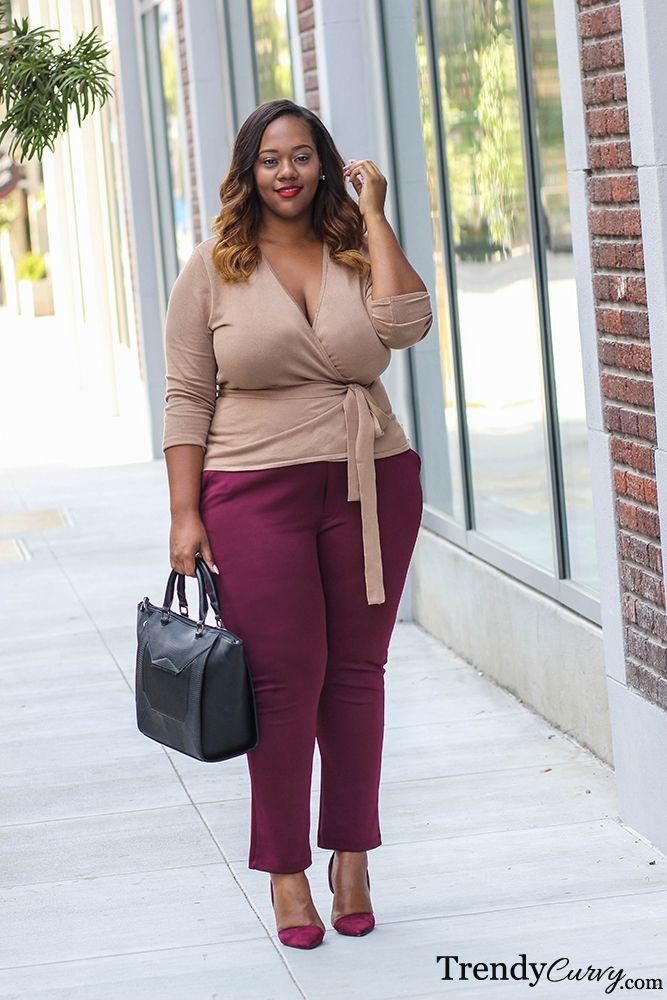 Plus Size Fashion - Plus Size Work Look