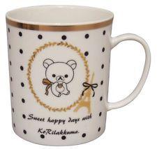 New Rilakkuma Mug Cup polkadots RK122-11 Japan | eBay