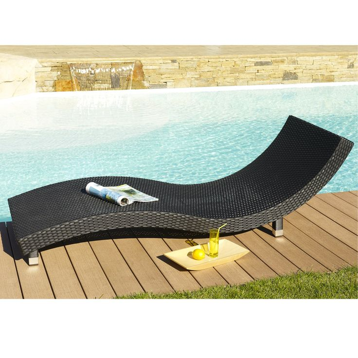 25 bain de soleil resine for Transat piscine design