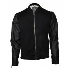 Bolongaro Trevor Jacket Black/Black. Based on a traditional sports jacket with classic rib collar.