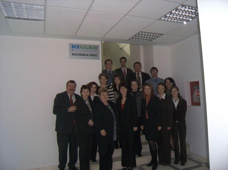 Echipa BCR Asigurari Sibiu