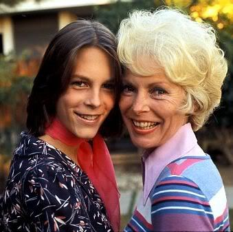 Jami Leigh Curtis and mom Janet Leigh