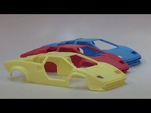 Moldmaking Tutorial: 2 Piece Scale Model Car Mold - YouTube