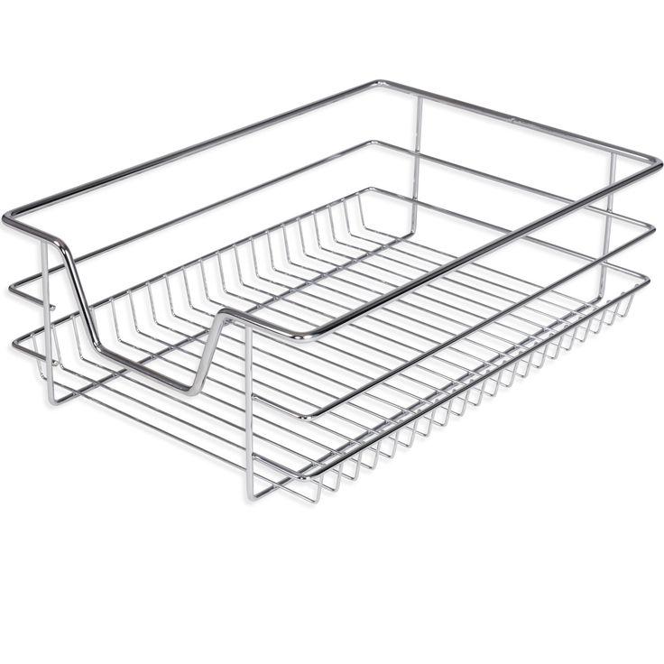 Details zu Kesser® Teleskop Schublade Küchenschublade Korbauszug - korbauszüge für küchenschränke