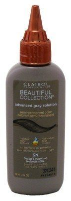Clairol Beautiful Collection Advanced Gray Solution -6N Toasted Hazelnut 3oz (3 Pack) ** Click on the image for additional details.