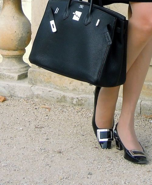 35 black Birkin and Roger Vivier pumps - MaiTai' s Picturebook