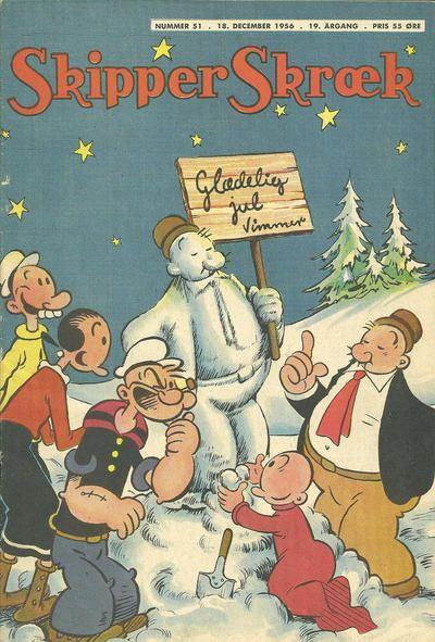 Cover for Skipper Skræk (Aller [DK], 1938 series) #51/1956