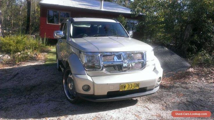 2009 Dodge Nitro Turbo Diesel 4WD SUV Luxury Trade. #dodge #nitro #forsale #australia