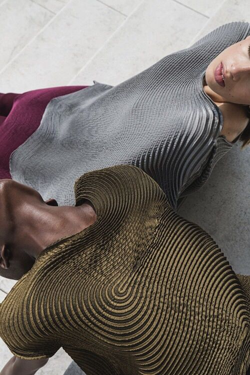 Issey Miyake A/W14 lensed by Quentin Saunier