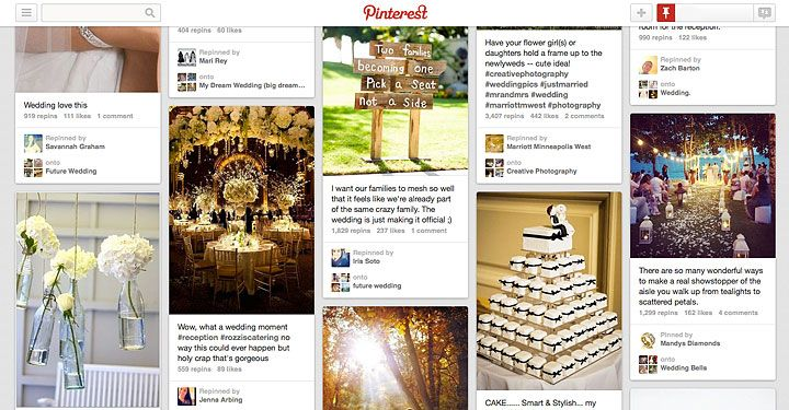 Enterprising Groom Plans Surprise Wedding Based Solely On His (Future) Bride's Pinterest Page