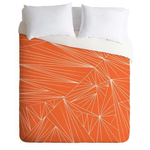 vy-la-tech-it-out-orange-duvet-cover-denydesigns.com