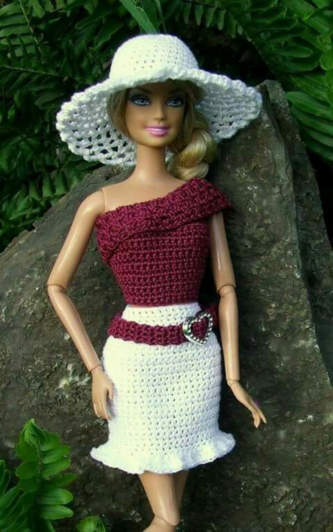 17 Best Ideas About Barbie Knitting Patterns On Pinterest