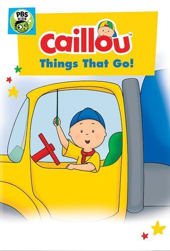 """#Giveaway: Win the DVD """"Caillou: Things that Go!"""" (Ends 7/21)"""