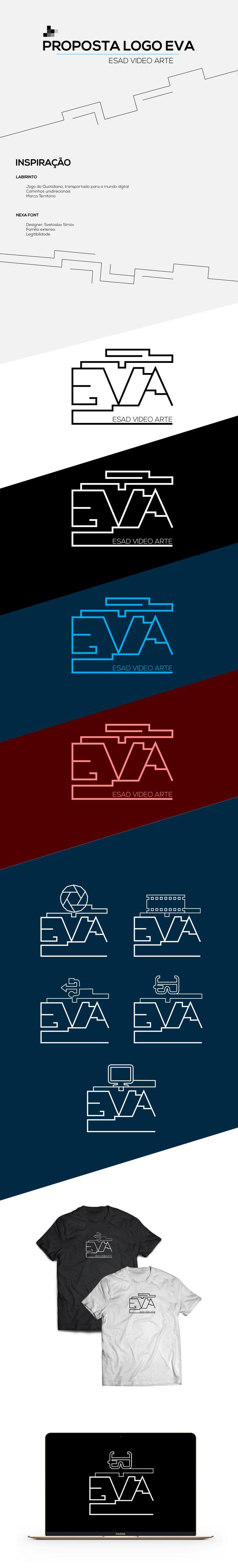 Proposta de Logo para o EVA (Esad Video Art 2017)