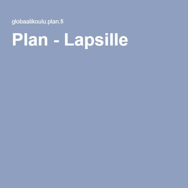 Plan - Lapsille Planin Globaalikoulun Maailman ympäri -peli on suunnattu erityisesti viidennen ja kuudennen luokan oppilaille.