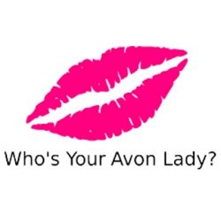 Avon Who's Your Avon Lady Name Badge