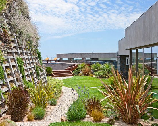 Die besten 25+ steiler Hang Landschaftsbau Ideen auf Pinterest - ideen gartengestaltung hanglage