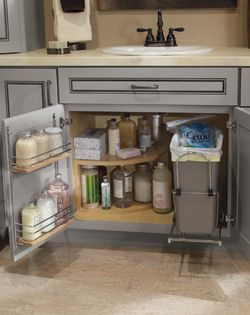 Diamond Reflections vanity sink base super cabinet at Lowe's