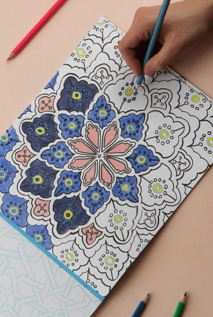 The Scientific Benefits Of Coloring Adult ColoringColoring BooksSketch